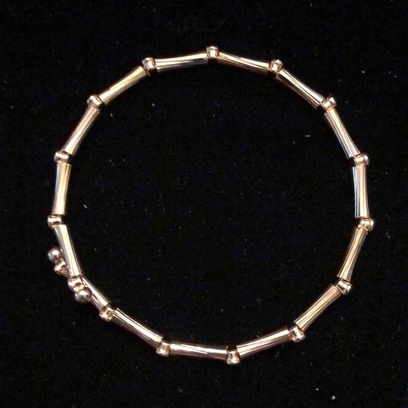 Merx Gold Bamboo Shape Bracelet